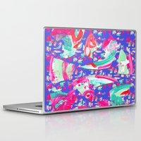 fancy Laptop & iPad Skins featuring Fancy by Caroline Sansone