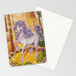 Old as the sky, old as the moon. The last Unicorn Tribute. Stationery Cards