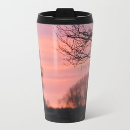 Sunset in Drawsko 1 Travel Mug