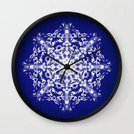 Mandala Lotus - Night Wall Clock