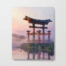 The Giant Torii Metal Print