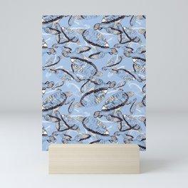 Turtle Tumble  Mini Art Print