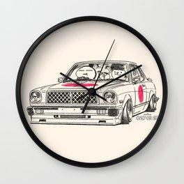 Crazy Car Art 0181 Wall Clock