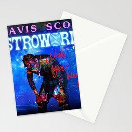 ori travis make music scott astroworld 2021 desem Stationery Cards