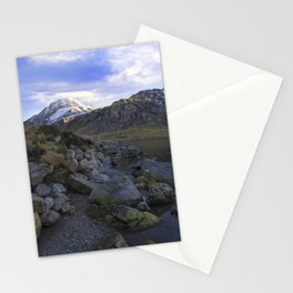 Frozen Lake Idwal Stationery Cards
