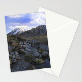 Frozen Lake Idwal Stationery Cards