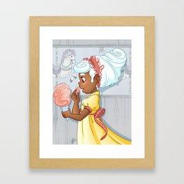 Ice Cream Carousel Framed Art Print