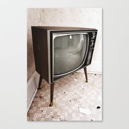 Television Setting Canvas Print
