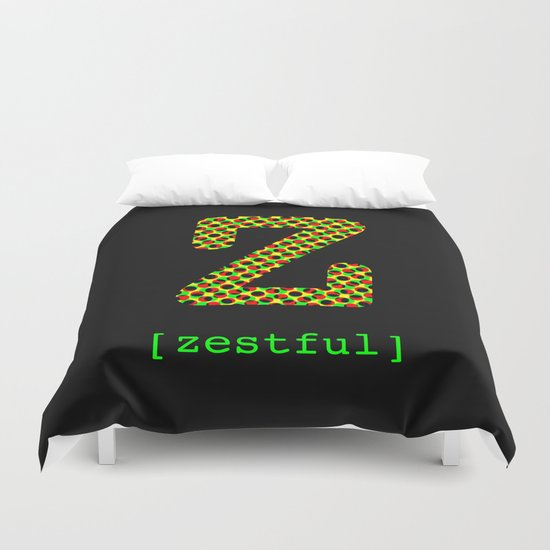 #Z [zestful] Duvet Cover