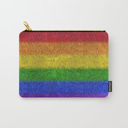 Rainbow Glitter Gradient Carry-All Pouch