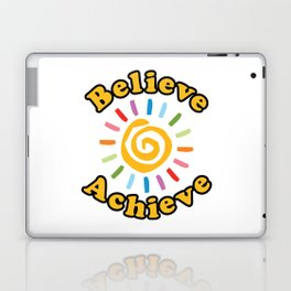 Believe. Achieve Laptop & iPad Skin