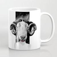 leia Mugs featuring LEIA by kravic