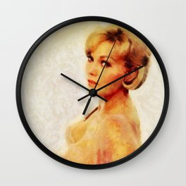 Kim Novak, Actress Wall Clock