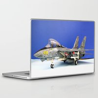 airplane Laptop & iPad Skins featuring airplane by Bitifoto