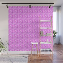 Pretty in Pink Shades Doodle Spirit Organic Wall Mural