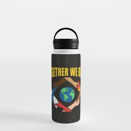 Together We Rise Water Bottle