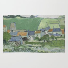View of Auvers Rug