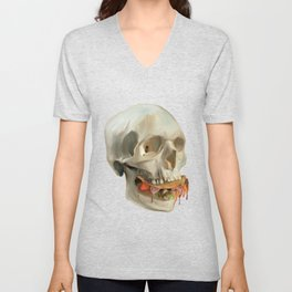Death By Taco Unisex V-Neck