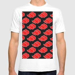 Akatsuki Clouds - Red T-shirt