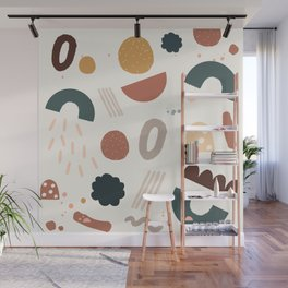 Geo Shapes Party Wall Mural