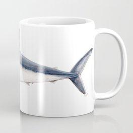 Porbeagle shark (Lamna nasus) Coffee Mug