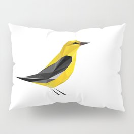 Oriole_lowpoly Pillow Sham
