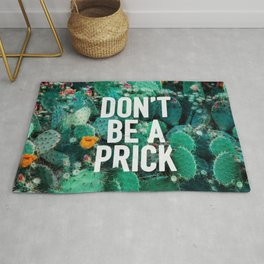 Don't Be A Cactus Rug
