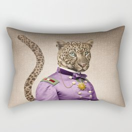 Grand Viceroy Leopold Leopard Rectangular Pillow