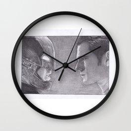DC Comics Bat man v Superman Wall Clock