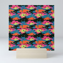 Psychedelic Space Mini Art Print