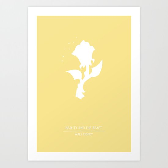 Enchanted Rose Art Print