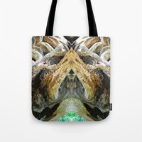 tree of life Tote Bags featuring Tree Life by Jenna Elise Designs