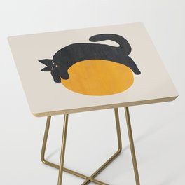 Cat with ball Side Table