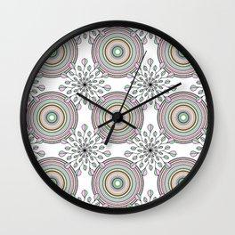 spring pattern Wall Clock