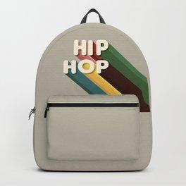 HIP HOP - typography Backpack