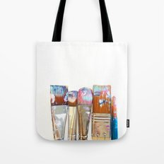 Five Paintbrushes Minimalist Photography Tote Bag