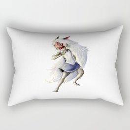 Princess Mononoke Rectangular Pillow