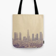 Southland. Los Angeles skyline photograph Tote Bag