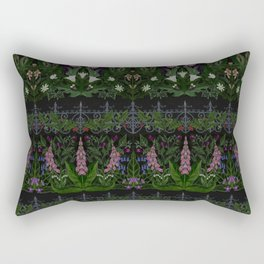 The Poison Garden - Gallimaufrey Rectangular Pillow