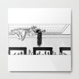 asc 906 - Les possédés (The hair) Metal Print