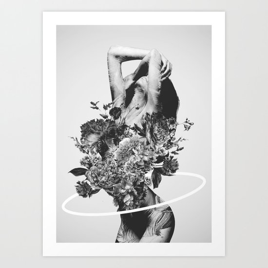 Be Slowly Art Print