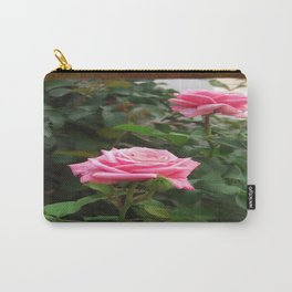 Pink Roses in Anzures 5  Blank P3F0 Carry-All Pouch