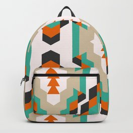 Ethnic Christmas pattern Backpack