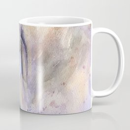 Horse on purple background Coffee Mug