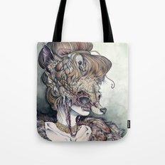 Vulpes Masquerade, now as a print! Tote Bag