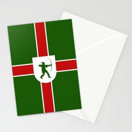 nottinghamshire region flag united kingdom great britain province Stationery Cards