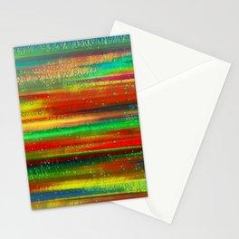 Astratto multicolore Stationery Cards