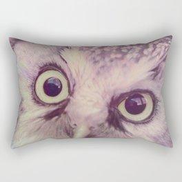 Dirty Look Owl Rectangular Pillow