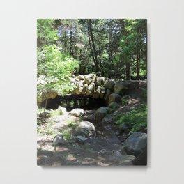 Fairytale Bridge Metal Print