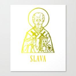 Slava Saint Canvas Print